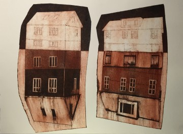thumbnail rød 2 huse på to plader